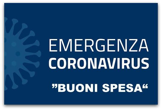 Emergenza Covid-19 – Distribuzione buoni spesa